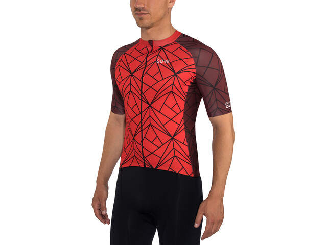 GORE WEAR C3 Jersey Heren, red/chestnut red
